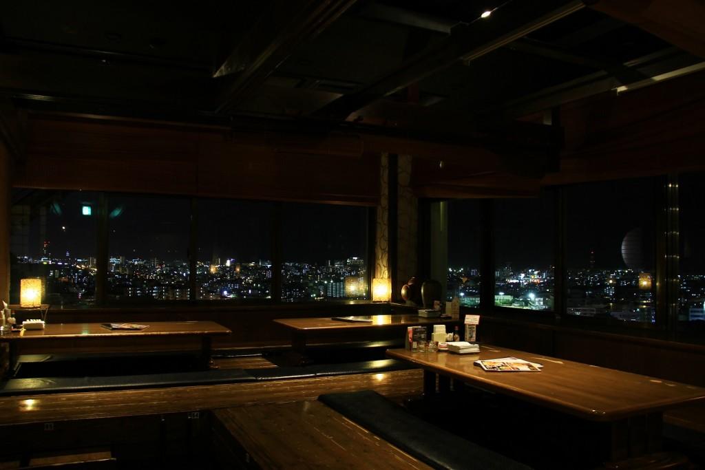浦添のたくし屋さんの夜景