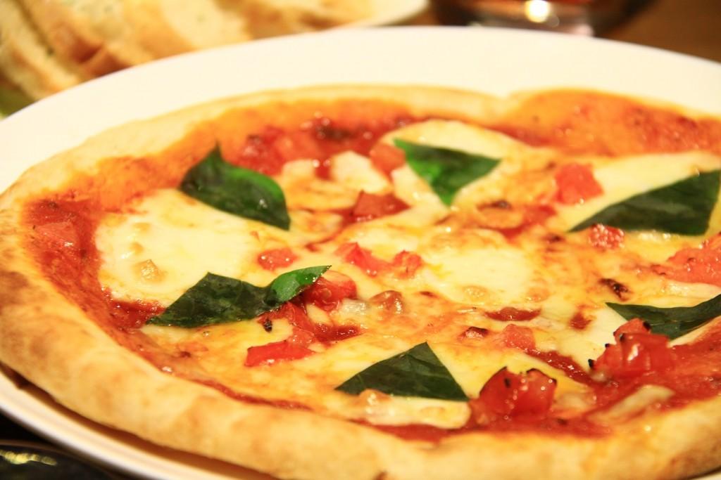 自家製Pizzaマルゲリータ@たくし屋さん